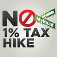 No 1 percent tax hike