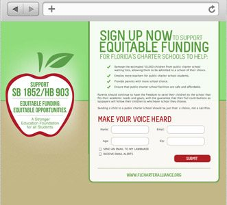 SUPPORT OUR CHARTER SCHOOLS